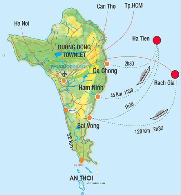 Vận chuyển hàng đi Phú Quốc và Cần Thơ